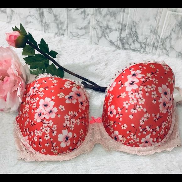 Victoria's Secret Demi Floral Bra